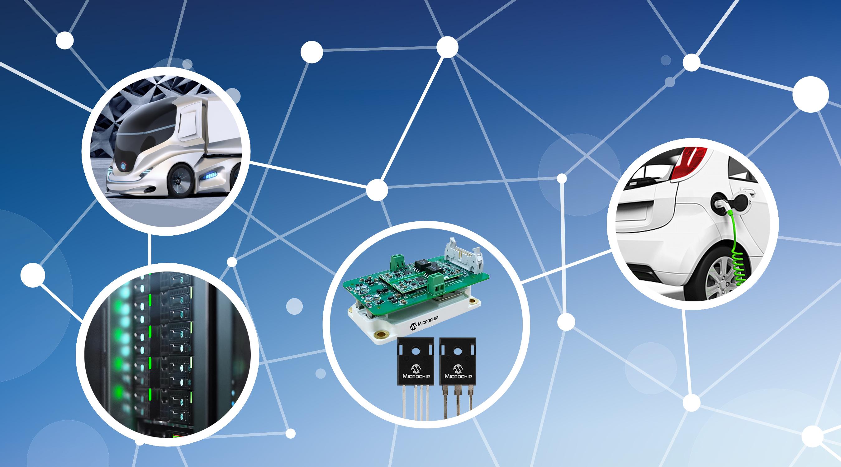 Microchip推出业界耐固性最强的碳化硅功率解决方案,取代硅IGBT,现已提供1700V版本
