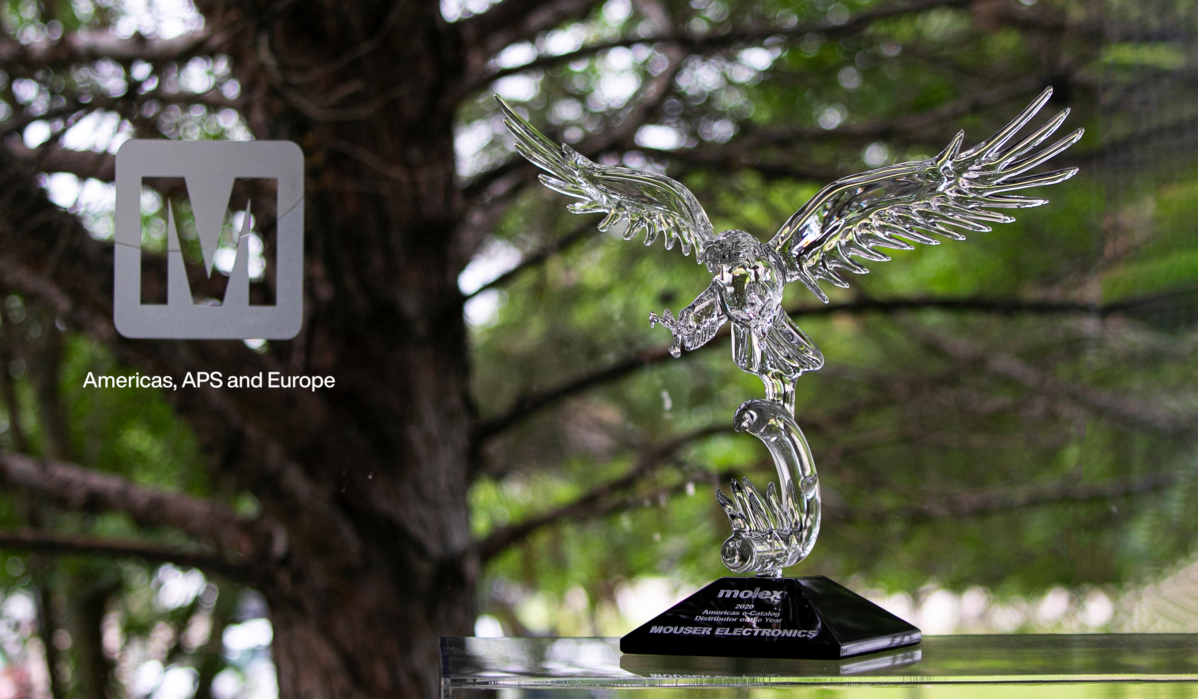 贸泽荣获Molex 亚太、美洲及欧洲区年度电子目录分销商大奖