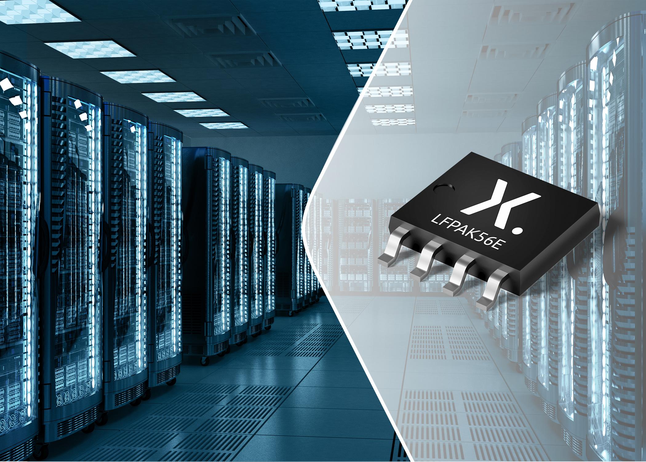 适用于热插拔的Nexperia新款特定应用MOSFET(ASFET)将SOA增加了166%,并将PCB占用空间减小80%