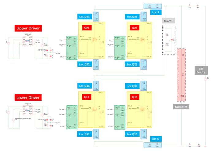仿真看世界之SiC MOSFET单管的并联均流特性