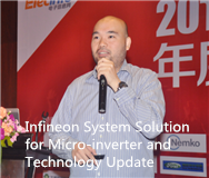 Infineon System Solution for Micro-inverter and Technology Update
