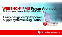 WEBENCH PMU power architect